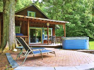 Secluded Cabin on 5 Riverfront Acres-Sauna/Hot Tub