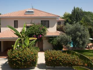 Reginas 4 bdr villa,private pool,wi-fi,2 km fm sea, Oroklini