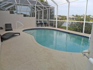 Private Swimming Pool With Loungers