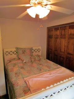 Queen bed in bedroom #4.