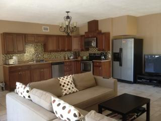 Totally updated kitchen and brand new furniture is open to the main living area