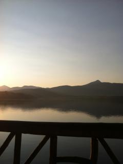 Mt Chocorua and Lake from the Bridge