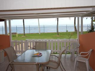 Beachfront vacation rental villa...plain idyllic...pool, beaches,A/C& INTERNET!