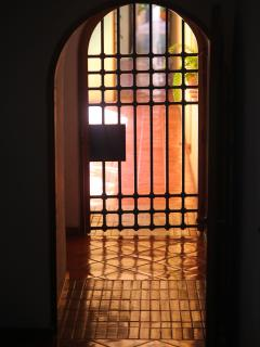 Cast iron door entryway.Gina Burg - 5280 Shutter Bug Photo