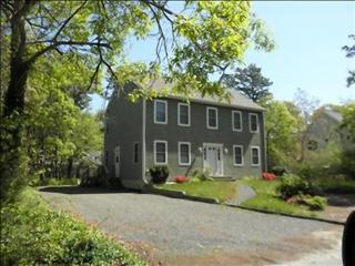 Walk to South Cape Beach From This 5-BR Colonial, Mashpee