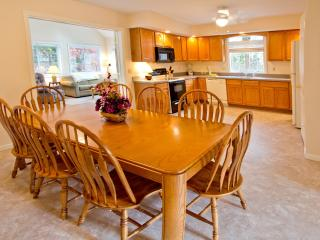 Open Floor Plan With Large Eat-in Kitchen And Attached Sun Room & Living Room