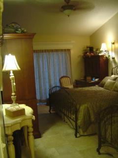 Master Bedroom with King Bed & Twin Bed - Armoire & Writing Desk