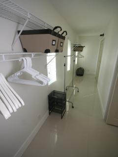 Walking closet - master bedroom