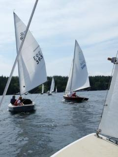 Wed. Afternoon Races in the harbor