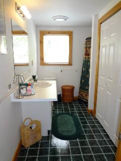 before the bathroom renovation :)