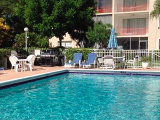 Condo garden by the sea Pompano Beach