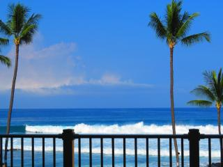 Full Ocean View, Kona Reef Condo, King Bed, Wifi, Kailua-Kona