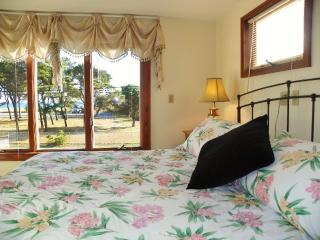 Enjoy Water View from the Gorgeous Master Bedroom with King Bed