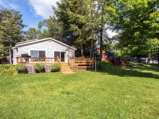 Lakefront 3BR Grayling House on Lake Margrethe w/Wifi, Gas Grill, Spacious Deck & Gorgeous Water Views - Easy Access to Abounding Outdoor Recreation!