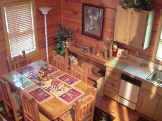 Enjoy Ole Glory the Americana Cabin in the Smokies, Sevierville
