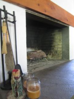 Large 5 foot wide Fireplace
