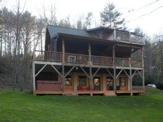 Riverfront Cabin at Todd, Boone