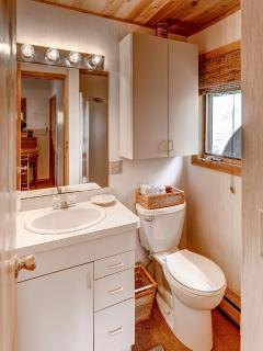 The second full bathroom.