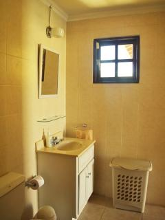ensuite bathroom of apartment