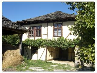 Traditional timber framed, stone roofed house near Apriltsi. (Kids under 3 free)