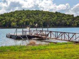 Cassville Home w/ Large Deck & Private Swim Dock!
