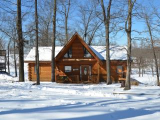 All Wood Log Cabin 2 bedroom 2 bath, Ridgedale