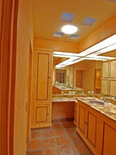 bathroom in the Artist Studio/bedroom