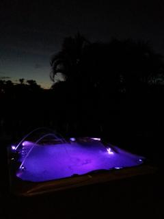 Hot tub at sunset or even later. No curfew!