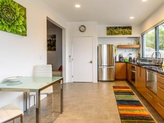 Kitchen equipped with everything you need to whip up a meal or margaritas