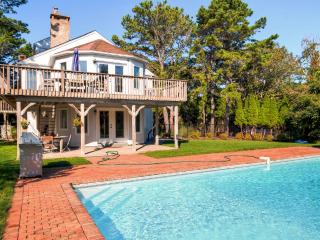 New Listing! Immaculate & Spacious 4BR Southampton House w/Wifi, Firepit, Dazzling Private Pool & Spectacular Bay Views from Wraparound Deck - Only 200 Feet From Private Beach Access!