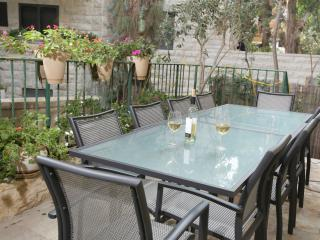 3 BR Kosher Garden Apartment in Rechavia, Jerusalén