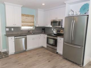 Unit A, kitchen.