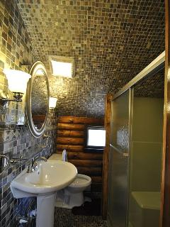 Bathroom 1 - Expertly Designed with Beautiful Tile!