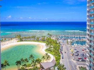 Waikiki Ilikai Suites 1820 Ocean/Lagoon View, Honolulu