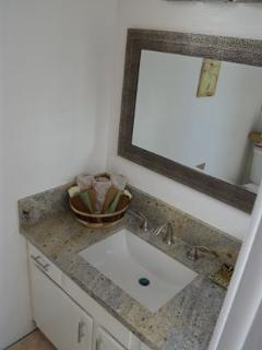 Granite & Travertine Loft Bath