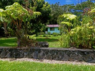 Full Hawaiian Cottage@Studio Price! Hale Akule!, Pahoa