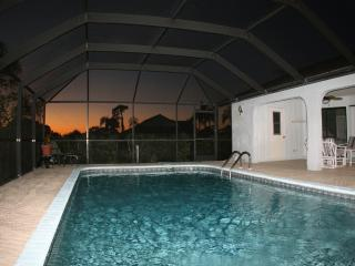"""watch the sunset from the side of your pool"""""""