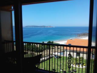 Impresionantes vistas al mar, cerca de Sanxenxo.