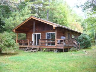 BIG SQUAM LAKE: LOG CABIN, Center Harbor