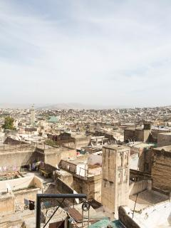 View over the Fes medina