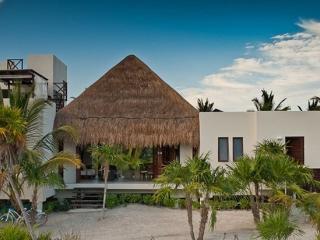 Luxury beachfront estate in Sian Kaan, Punta Allen