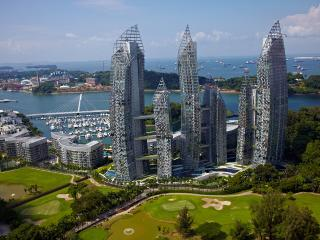 Sentosa Marina  Bay Seaview Presidential SkyVilla, Singapur