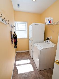 Full Laundry Room.