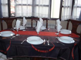 Mesa extensible en el salón