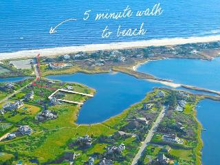 *Prime Waterfront Location, Walk to Beach,Private*, Water Mill