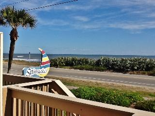 Wonderful 1BR Ormond Beach Condo w/Direct Beachfront & Ocean Views - Steps from a No Drive Beach & Easy Access to Daytona & St. Augustine Attractions!
