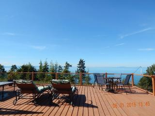 AWESOME VIEW OF THE STRAIT FROM YOUR DECK WITH GAS FIREPIT