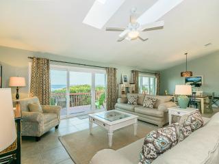 Almost Heaven, a 3 bedroom, 2 bath beach house. Beautiful views of the Atlantic!