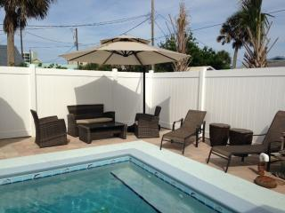 Great Low Rates! Private Pool! Nautical 3BR New Smyrna Beach House w/Wifi  & Outdoor Shower - 2 Minute Walk to the Beach! Close to Flagler Avenue, & Major Attractions!