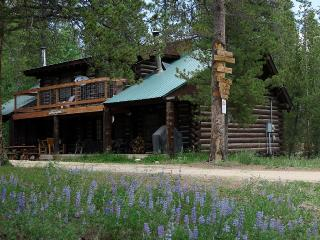 3 BR Log Home by Private Lake with Use of Boats & Bikes near RMNP, Grand Lake